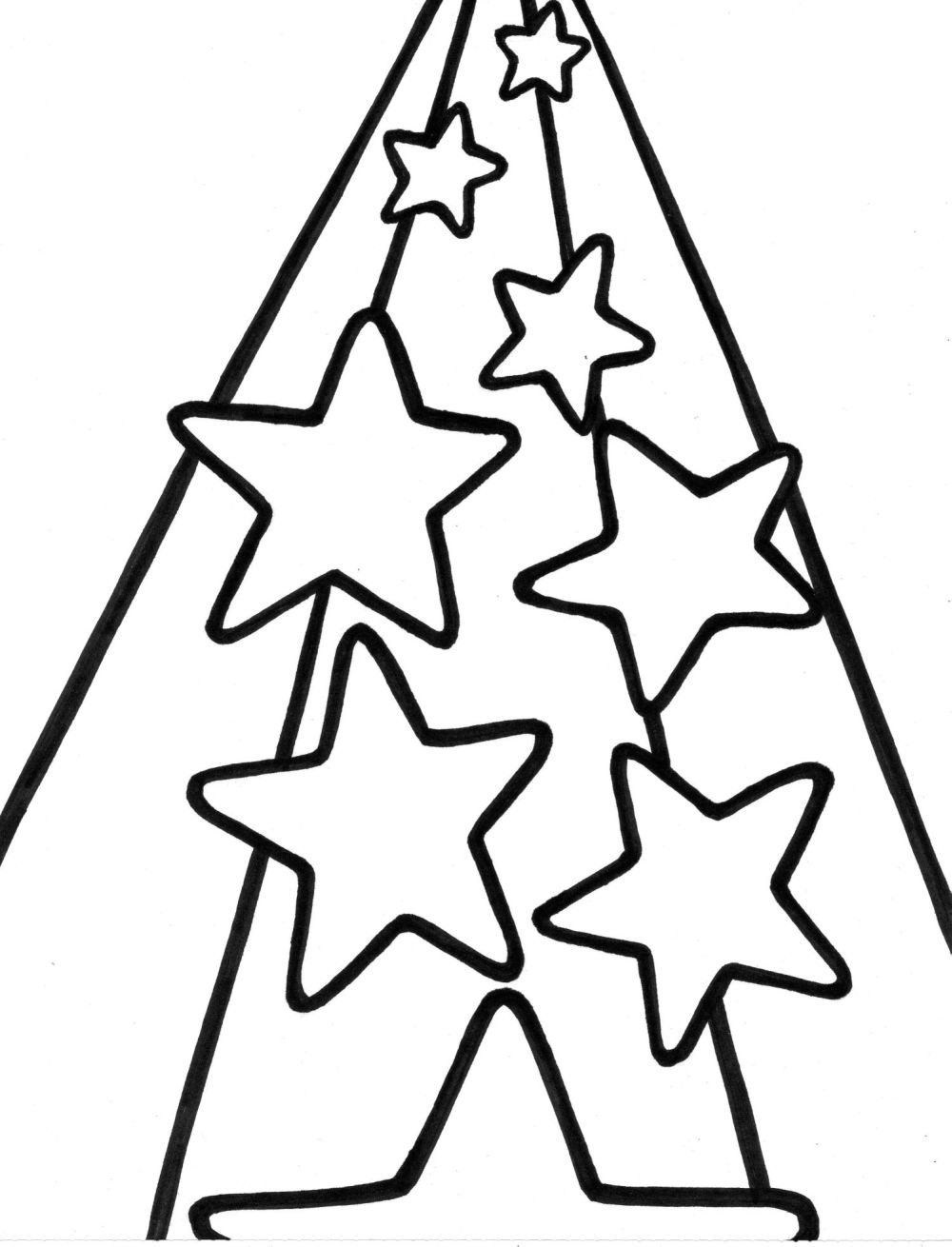 Coloring Page Of A Star Star Drawlings Coloring Pages Print Coloring