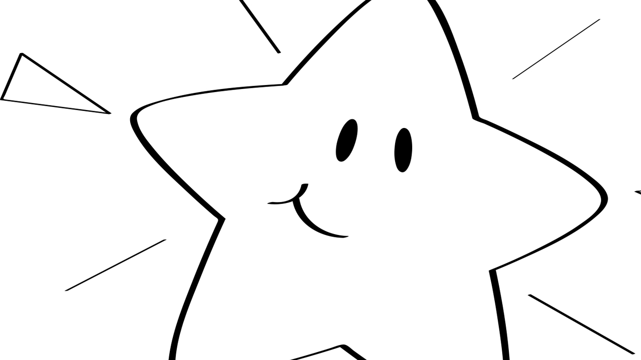 Coloring Page Of A Star Twinkle Twinkle Little Star Coloring Page Mother Goose Club