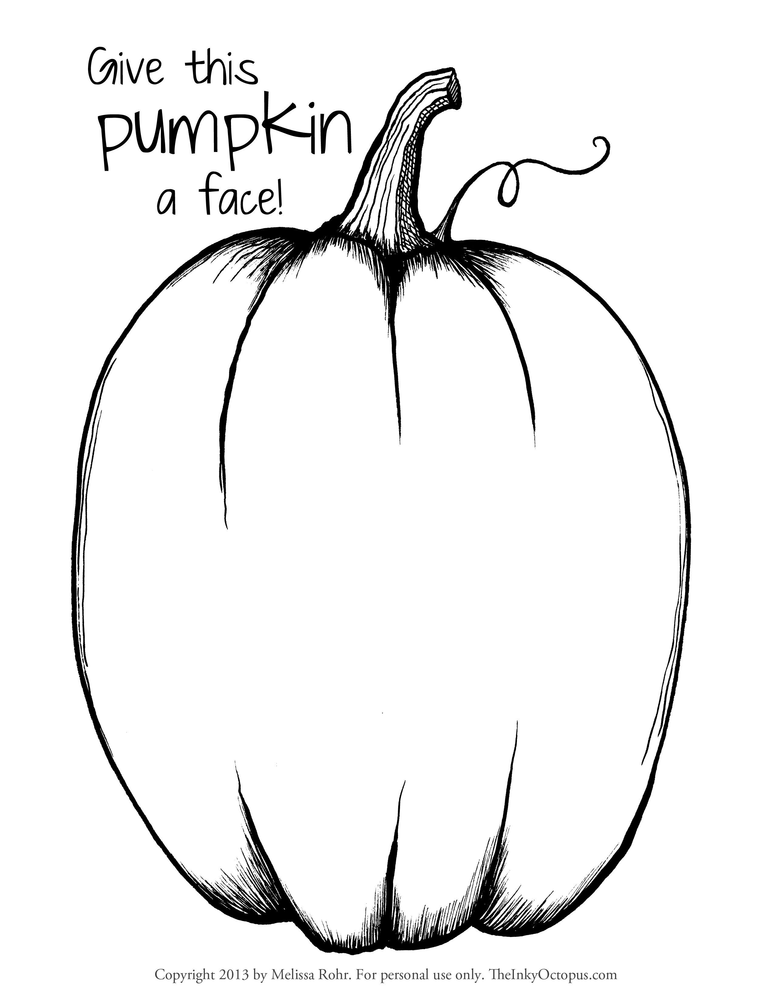 Coloring Page Of Pumpkin Coloring Ideas Coloring Pages Pumpkins Print Pumpkin Pattern Page