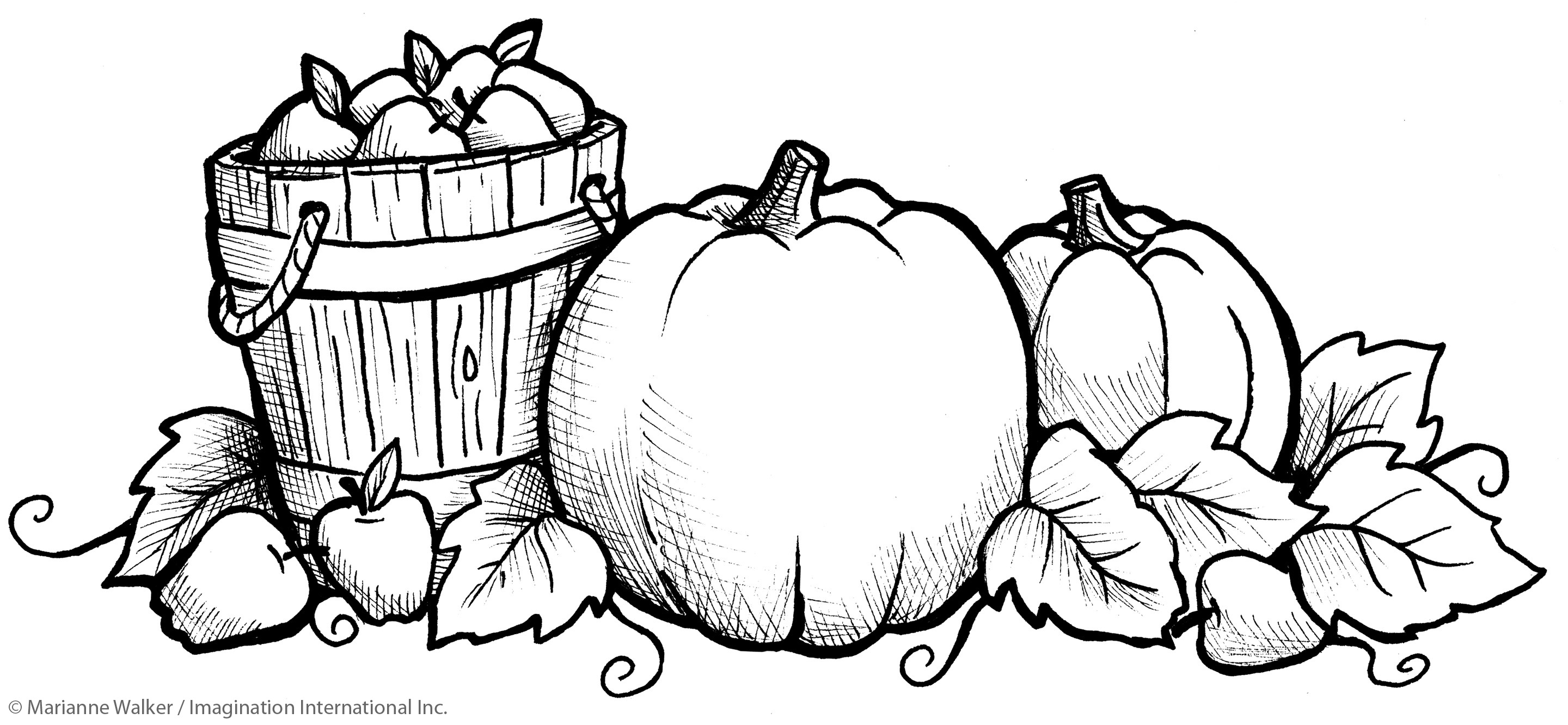 Coloring Page Of Pumpkin Fall Pumpkin Coloring Pages For Kids At Getdrawings Free For
