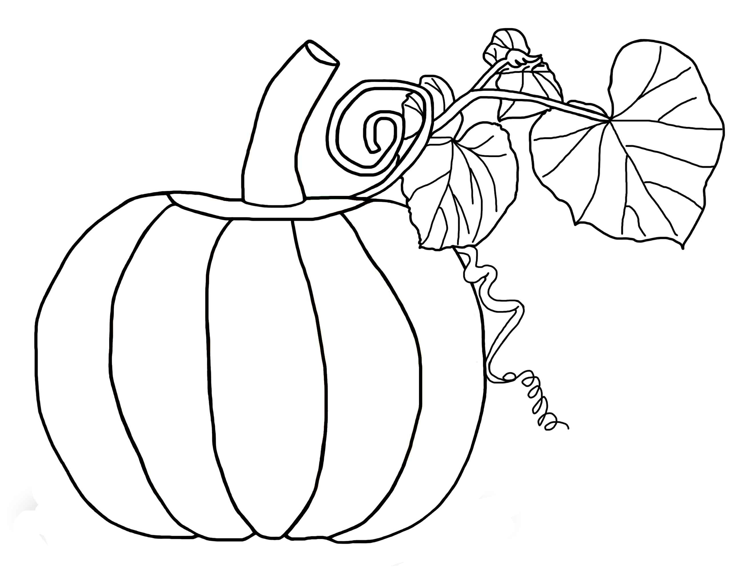 Coloring Page Of Pumpkin Free Pumpkin Coloring Pages For Kids