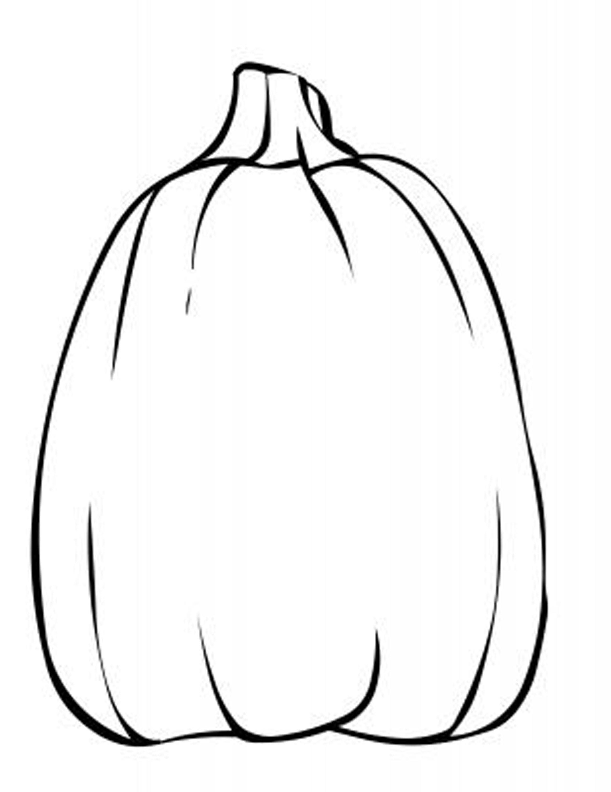 Coloring Page Of Pumpkin Preschool Easy Fall Pumpkin Coloring Pages Printable Coloring Pages