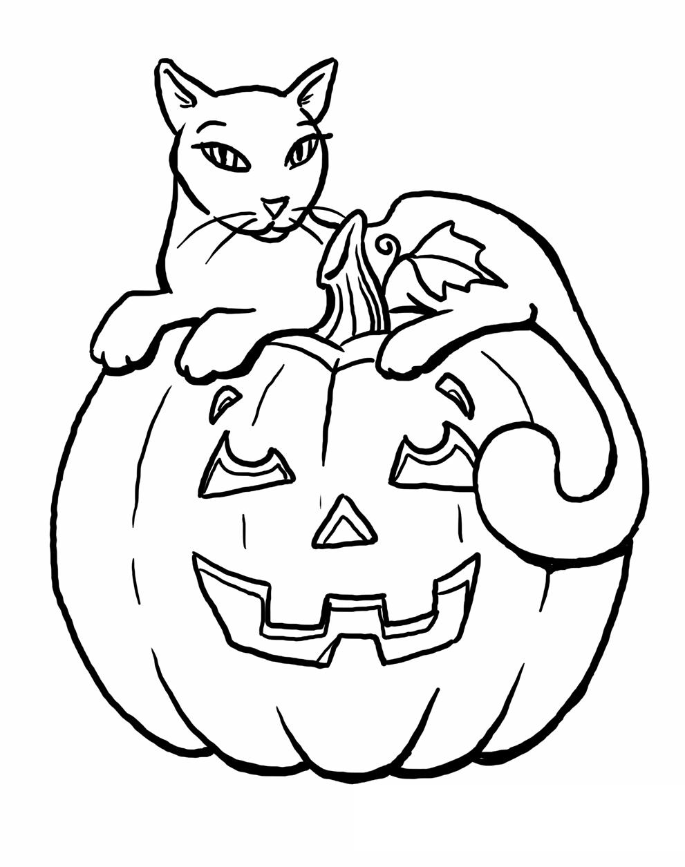 Coloring Page Of Pumpkin Pumpkin 73 Objects Printable Coloring Pages