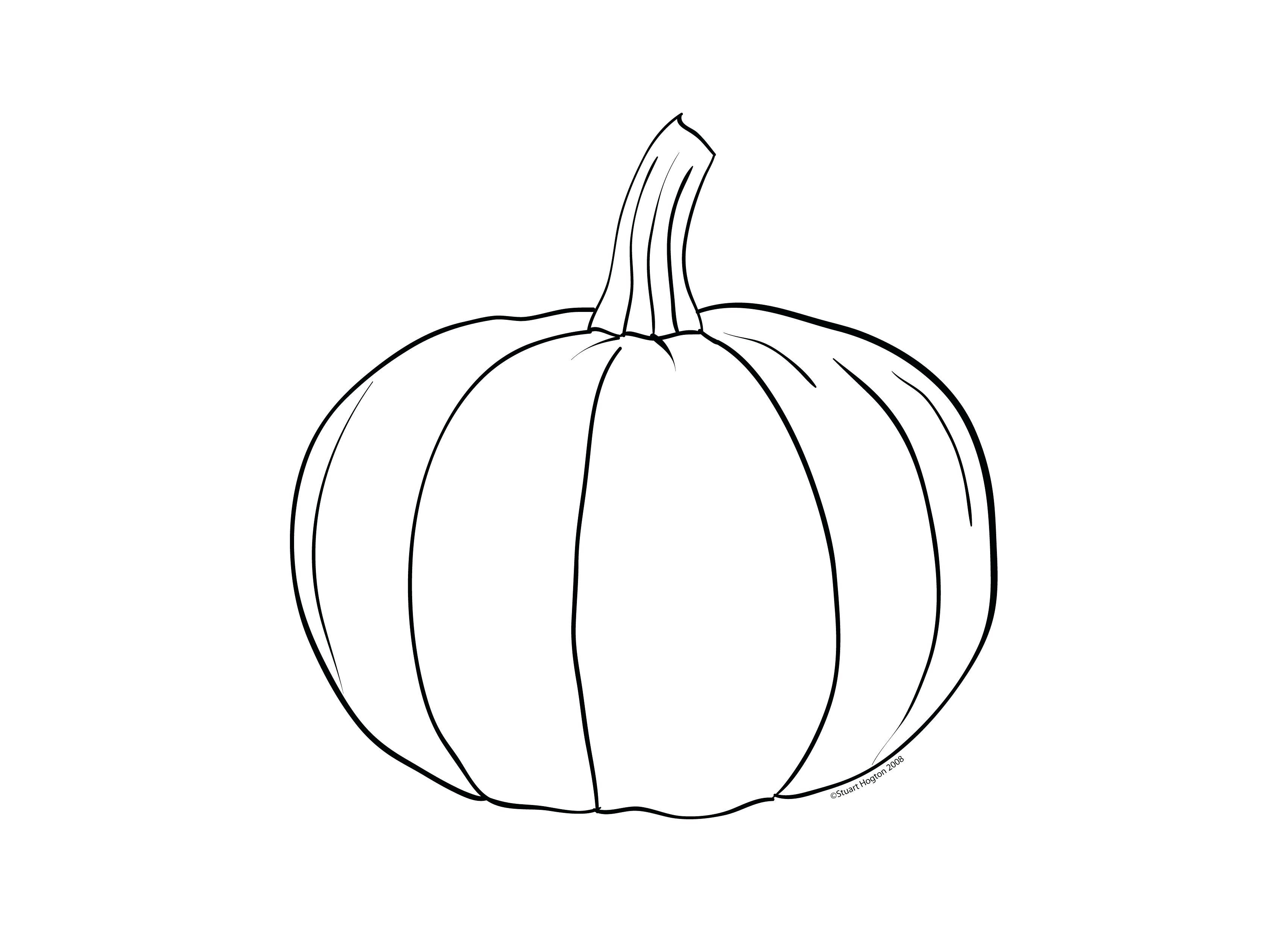 Coloring Page Of Pumpkin Pumpkin Coloring Page Printable Niagarapaperco