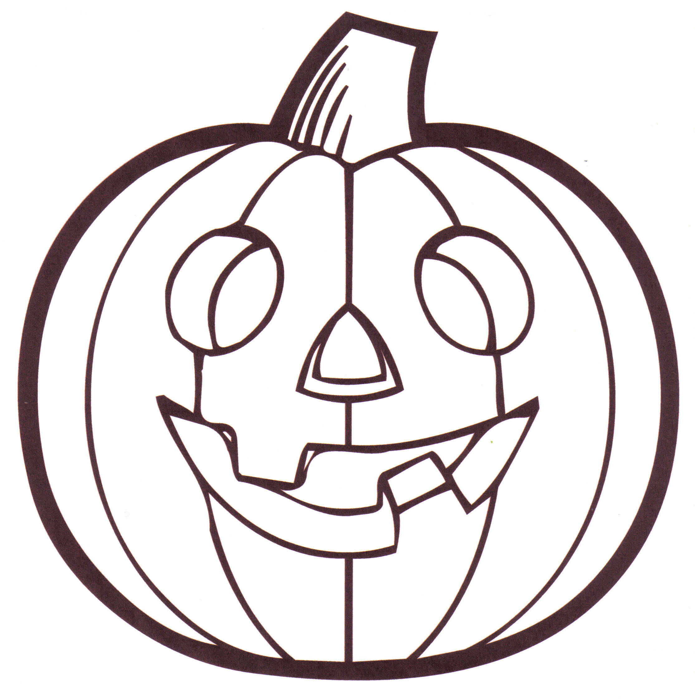 Coloring Page Of Pumpkin Pumpkin Faces Coloring Pages Clipart Panda Free Clipart Images