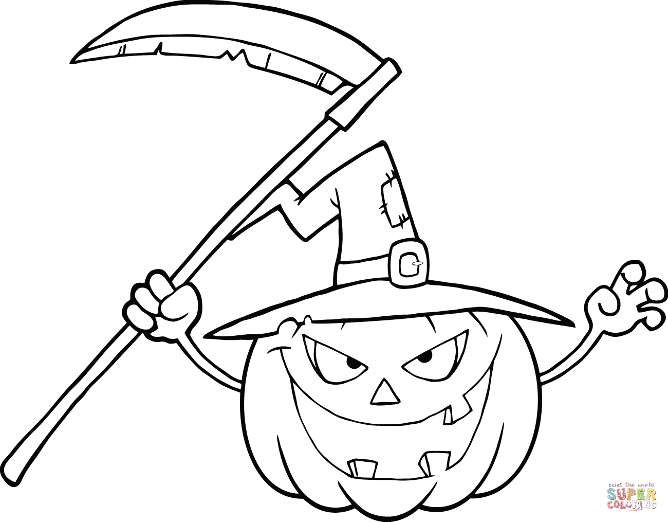 Coloring Page Of Pumpkin Pumpkins Coloring Pages Free Coloring Pages