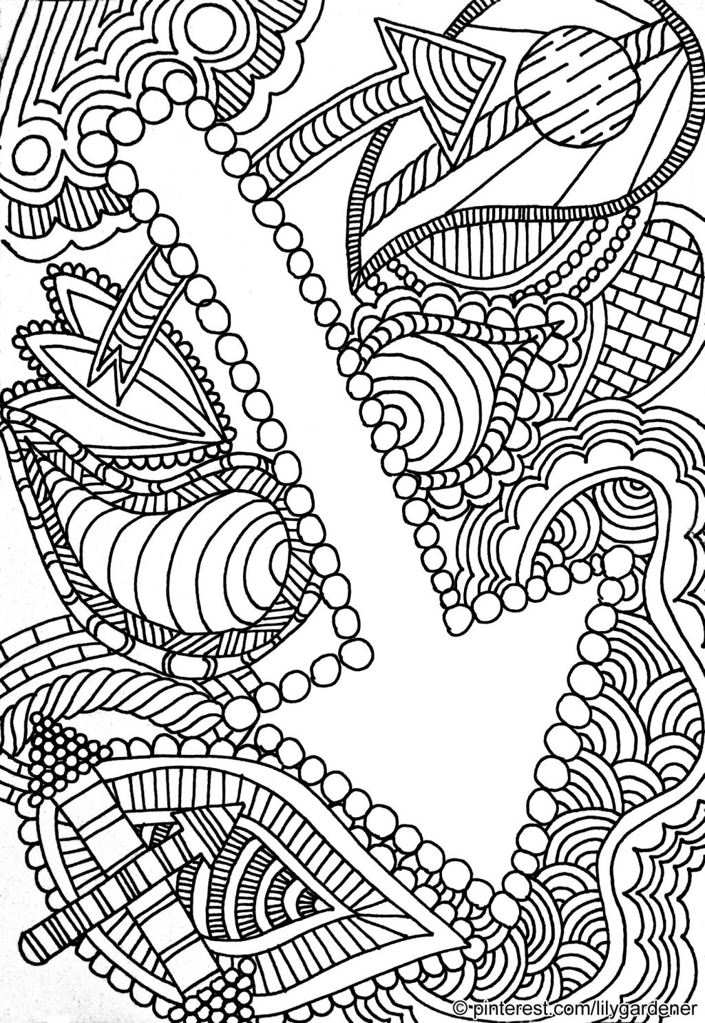 Coloring Pages For 10 Year Old Girls Coloring Pages Full Size Of Abstract Color Pages For Adults
