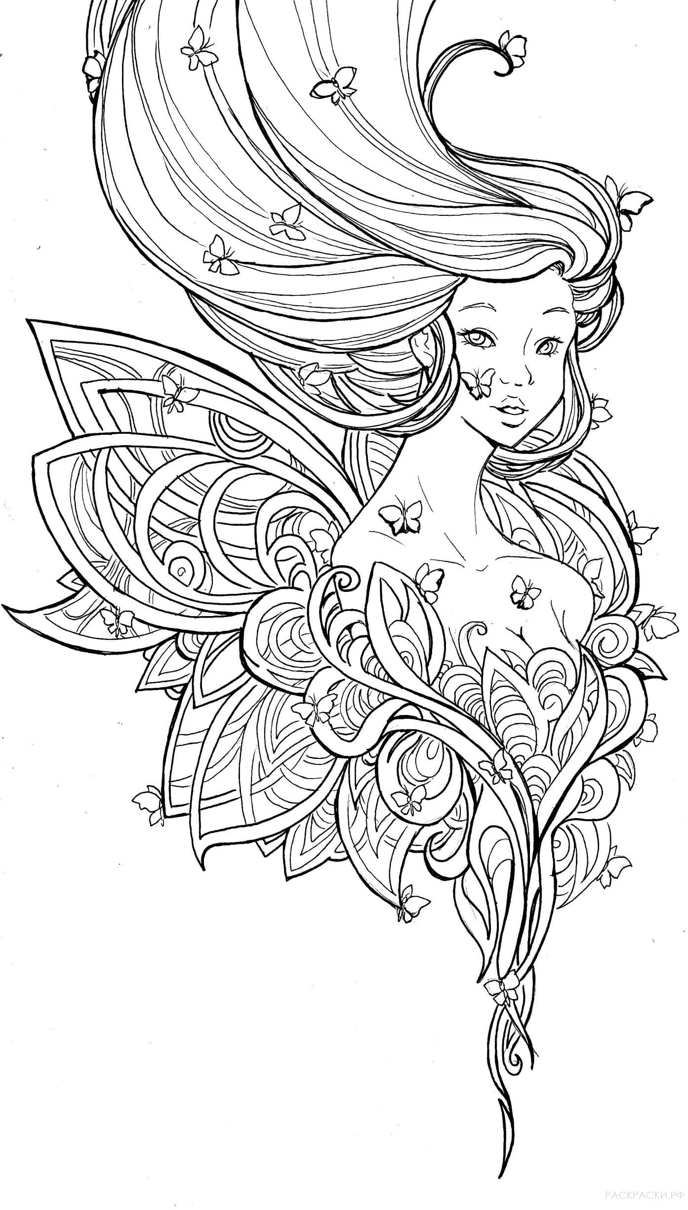 Coloring Pages For 10 Year Old Girls Complex Coloring Pages For 10 To 12 Year Old Girls Print Them For