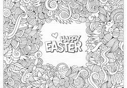 Coloring Pages For Adults Easter Easter Coloring Pages For Adults