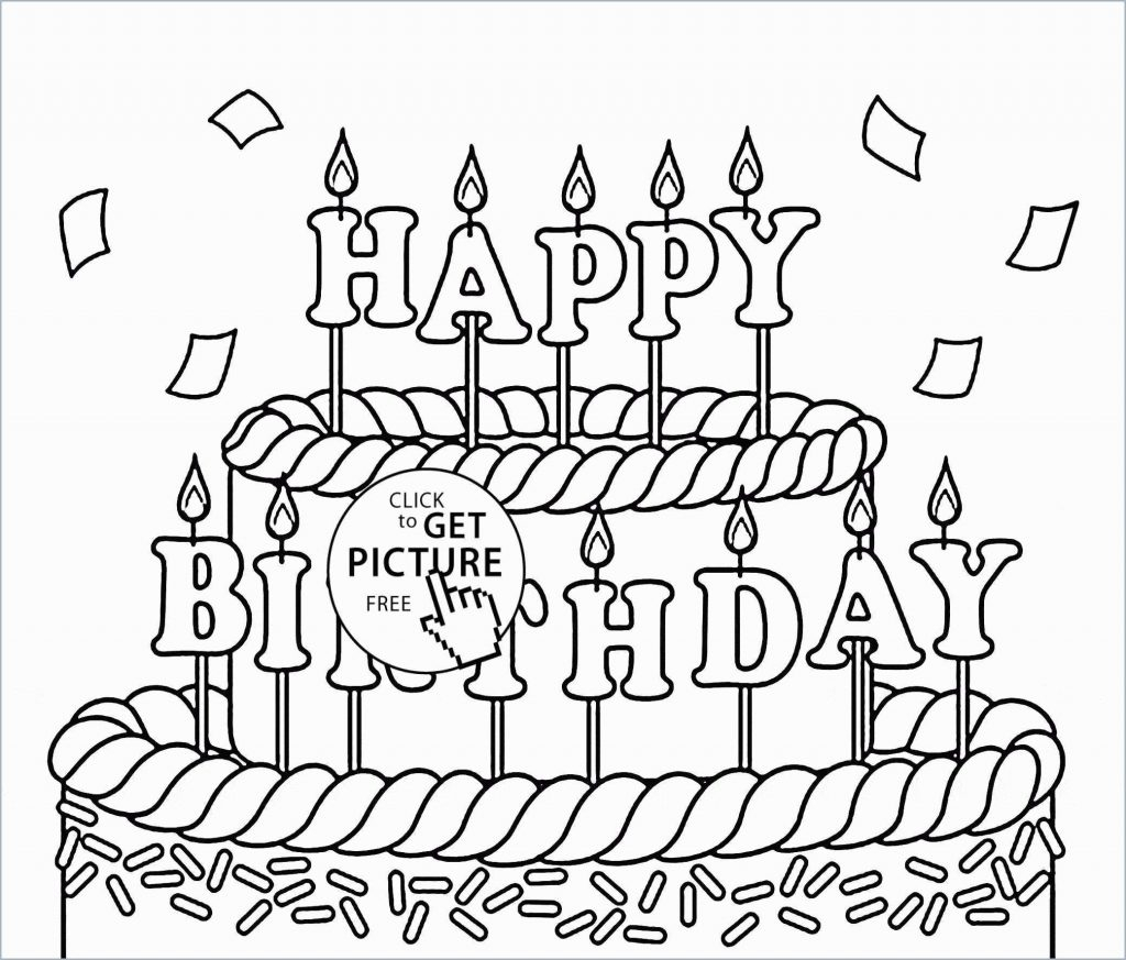 Coloring Pages For Birthday Coloring Book Printablethday Coloring Pages Book Free Outta This
