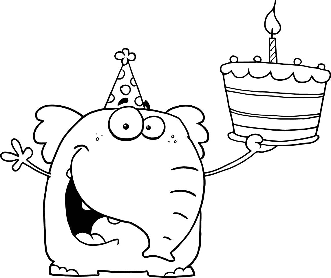 Coloring Pages For Birthday Free Happy Birthday Coloring Pages For Kids Coloringstar