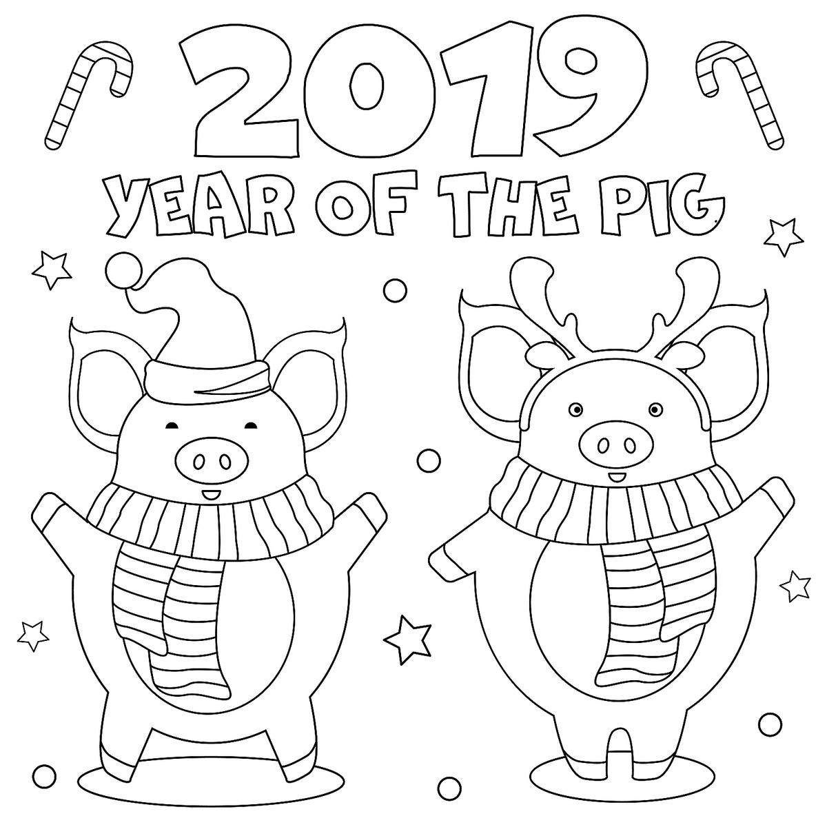 Coloring Pages For Kids To Print Out New Year January Coloring Pages Printable Fun To Help Kids