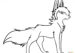 Coloring Pages Of A Wolf Wolf Coloring Pages Free Coloring Pages