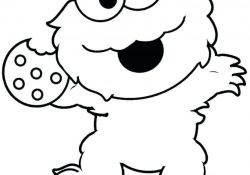 Coloring Pages Of Baby Elmo Coloring Pages Cookie Monsterloring Pageslor Sheet Free Book