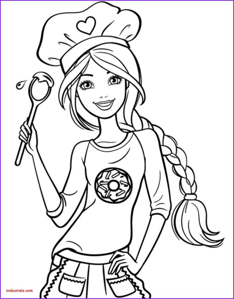 Coloring Pages On Pinterest Coloring Elegant Barbie Coloring Pages Inspiration Page Beautiful