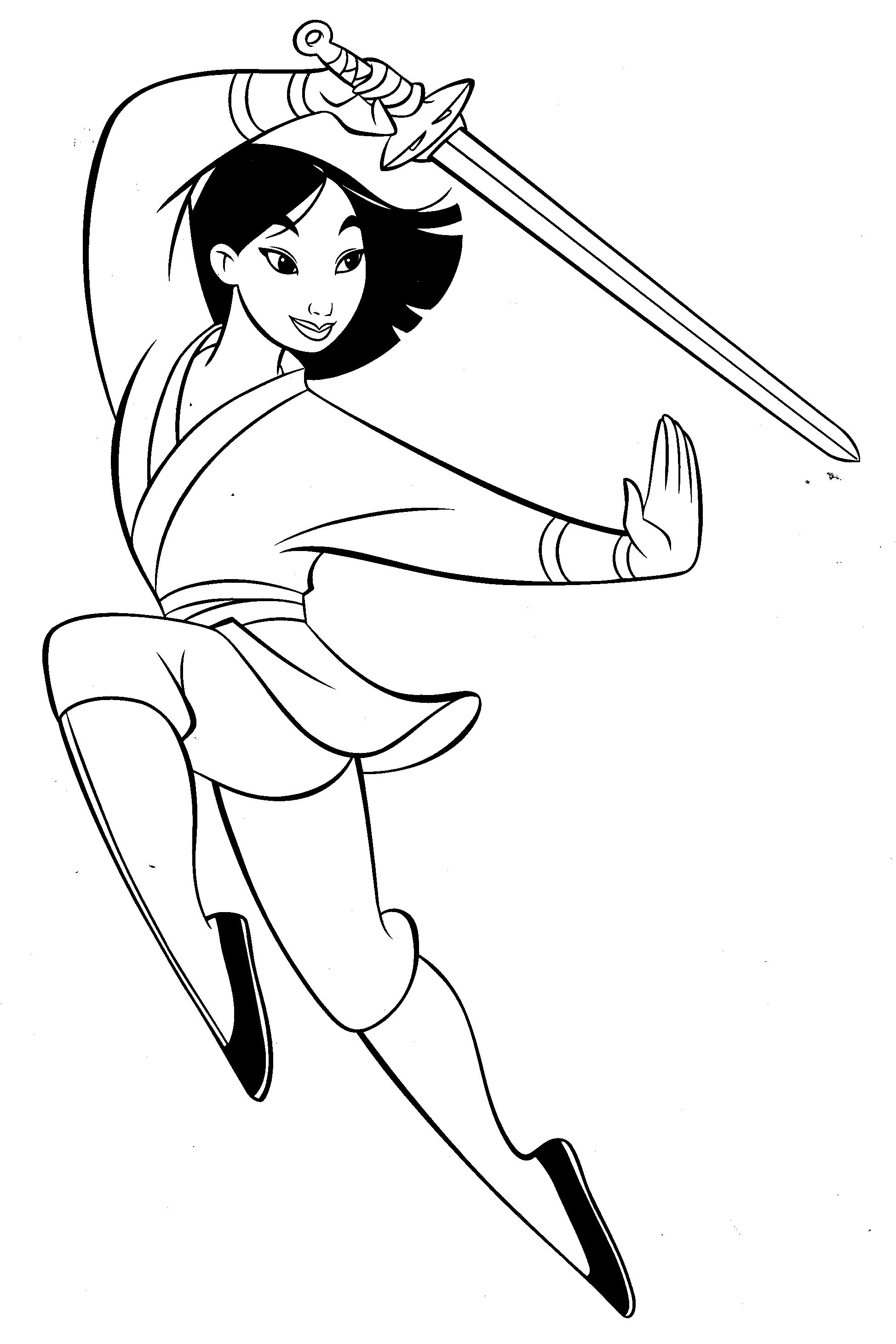 Coloring Pages On Pinterest Mulan Fighter Coloring Pages Pinterest At Curiertech