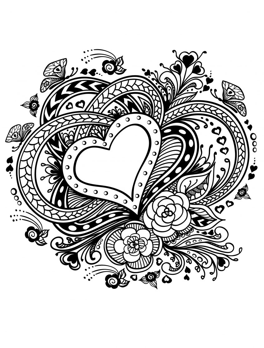 Coloring Pages Valentine Coloring Outstanding Easy Valentine Coloring Pages Ideas Beautiful