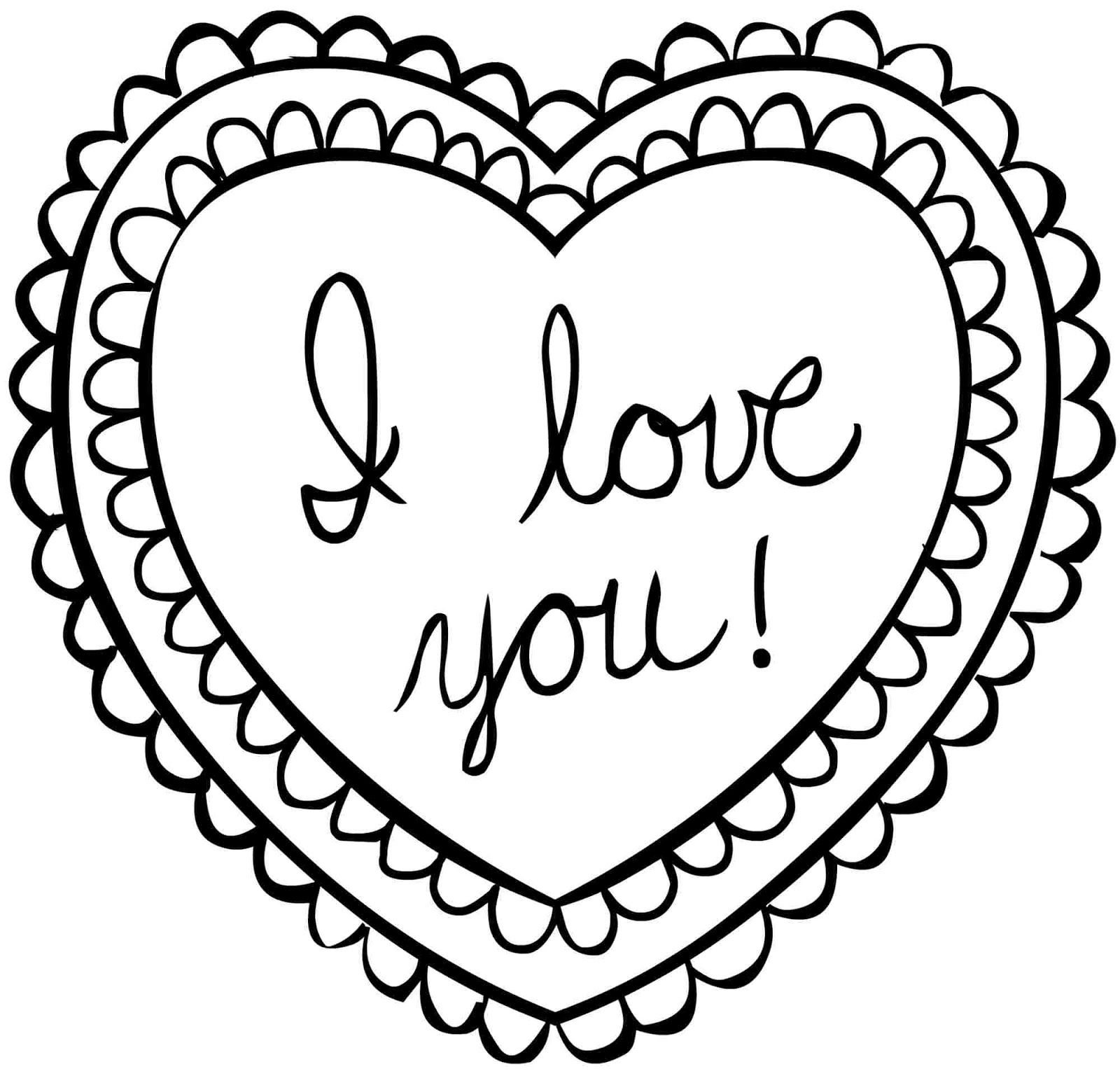 Coloring Pages Valentine Coloring Pages Coloring Pages Valentine S Day Valentines Pinterest