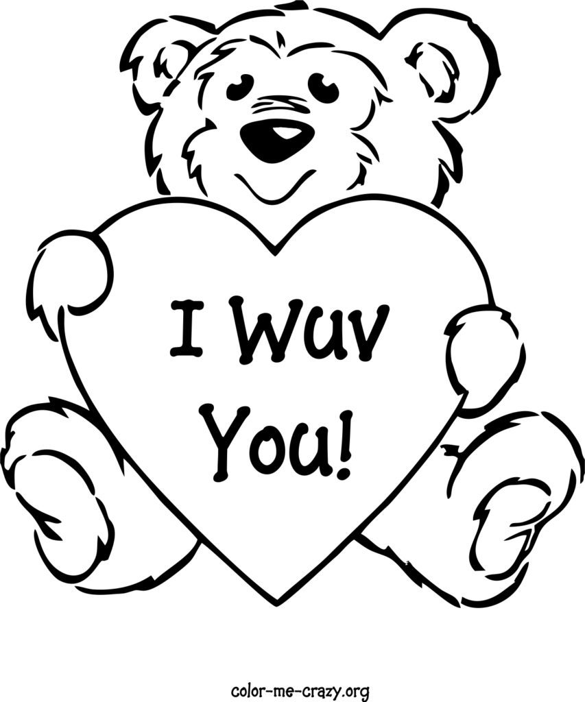 Coloring Pages Valentine Coloring Valentine Day Coloring Pages Printable 853x1024 In