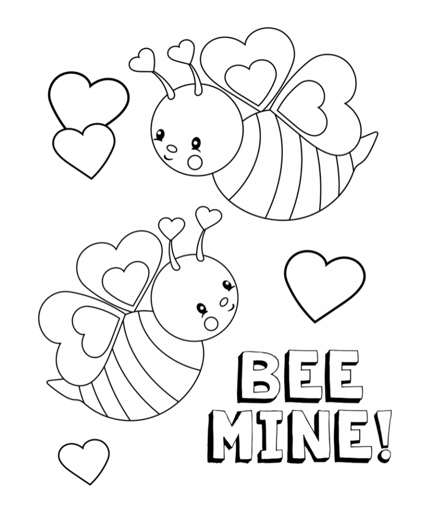 Coloring Pages Valentine Valentines Coloring Pages Happiness Is Homemade