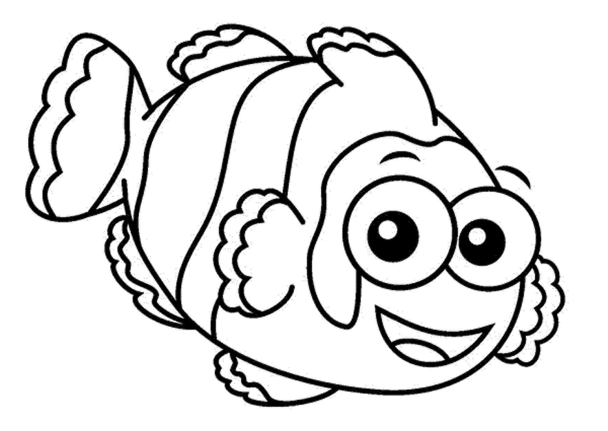 Crayola Fish Coloring Pages Cute And Educative Fish Coloring Pages Best Apps For Kids