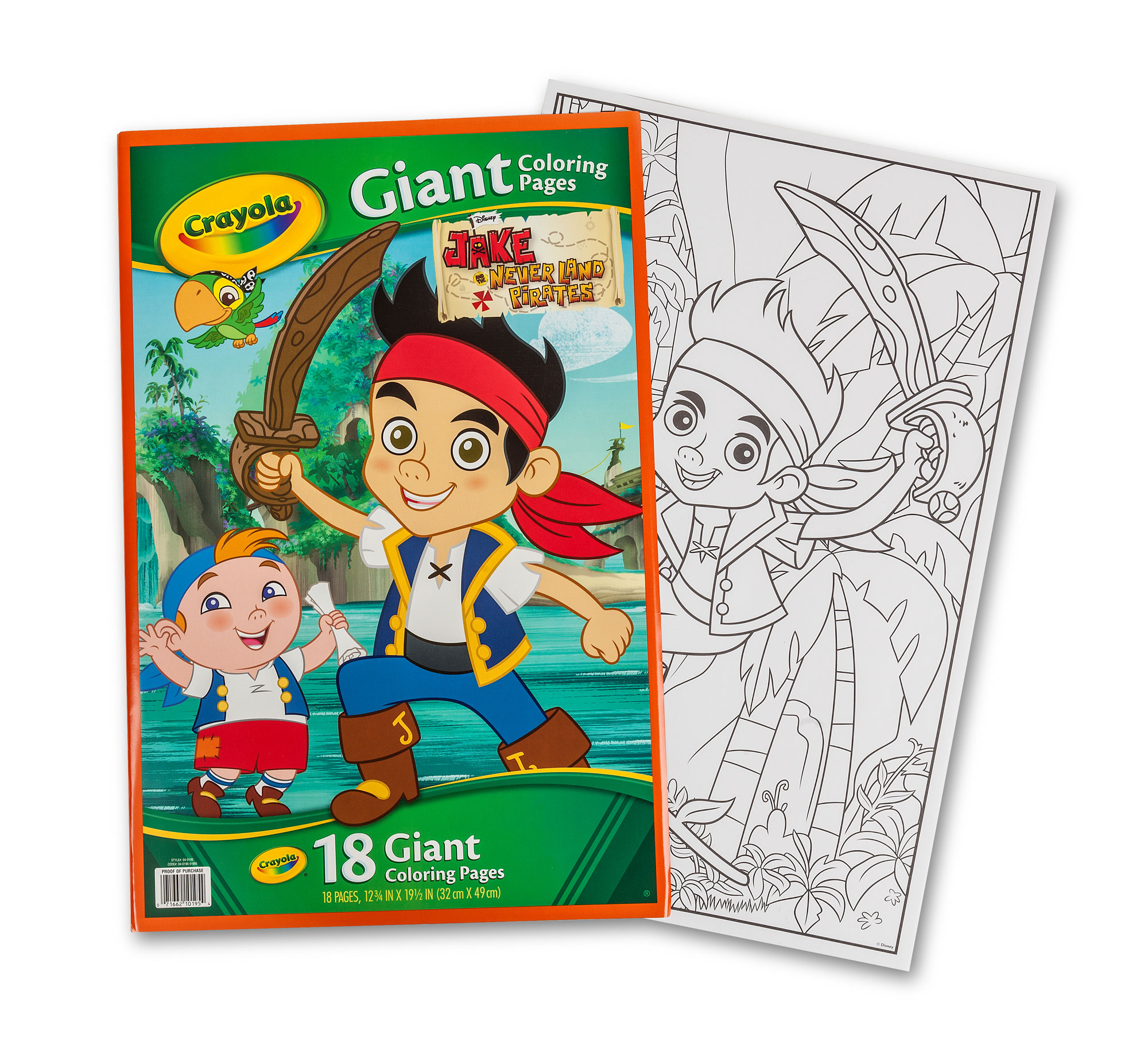Crayola Fish Coloring Pages Giant Coloring Pages Jake And The Never Land Pirates Crayola