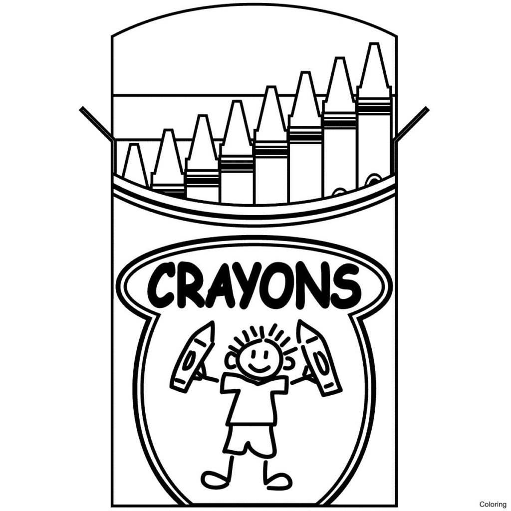 Crayon Coloring Pages Printable Coloring Book World Coloring Pages Printable For Kids Free Sheets