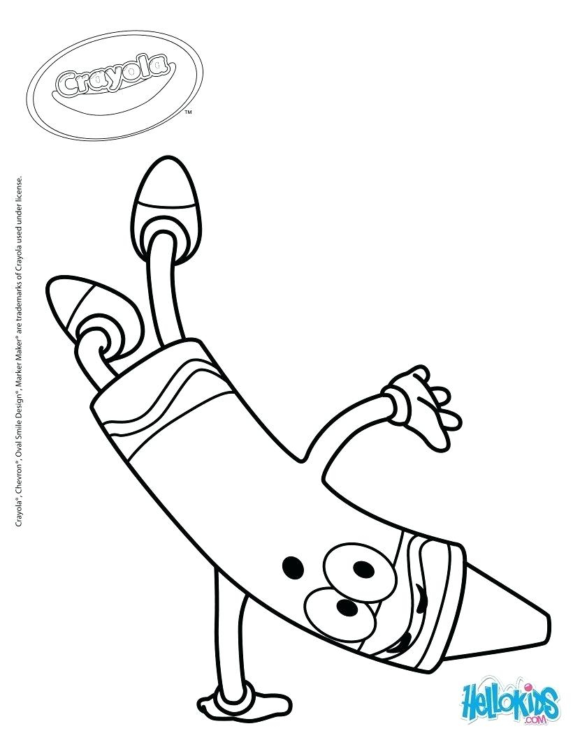 Crayon Coloring Pages Printable Coloring Crayola Printable Coloring Pages Print Free Disney Of