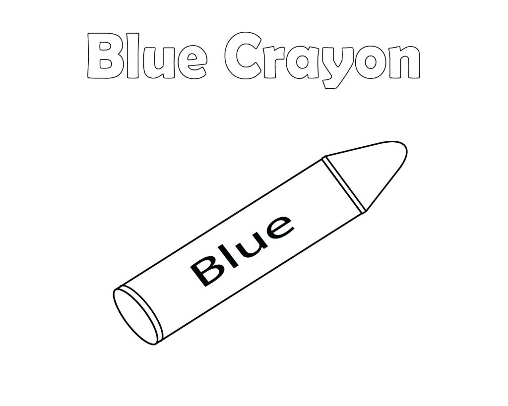 Crayon Coloring Pages Printable Crayons Coloring Pages Print Highendpaperco