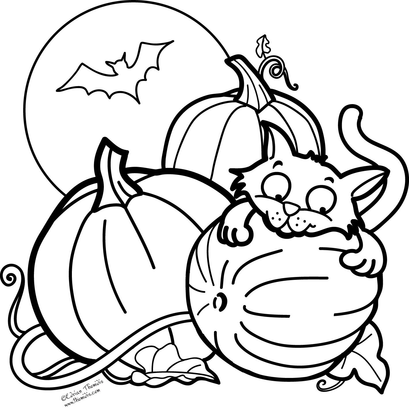 Cute Halloween Coloring Pages Printable Coloring Ideas Splendi Halloween Coloring Free Printables Cute