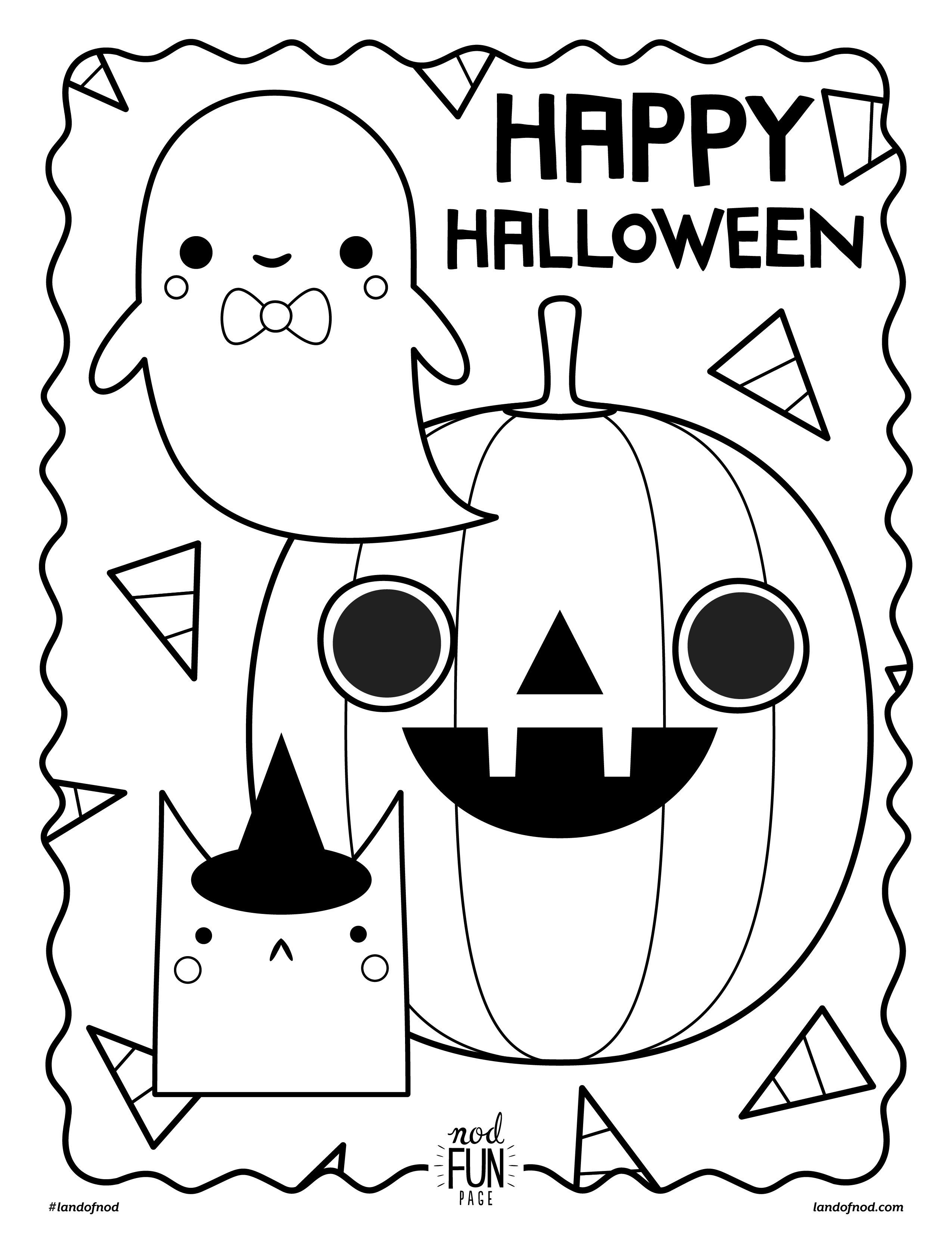 Cute Halloween Coloring Pages Printable Coloring Pages Cute Halloween Bats Coloringges Free Printable Pdf