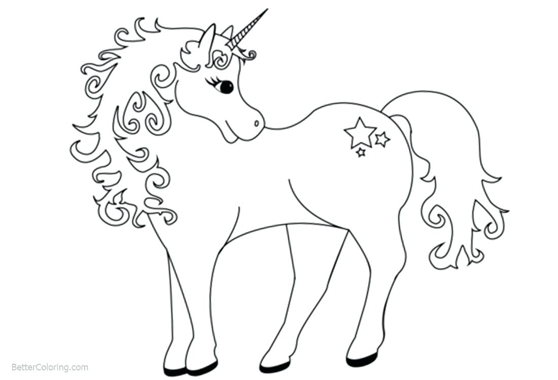 Cute Unicorn Coloring Pages Coloring Pages For Kids Unicorns Codeadventuresco