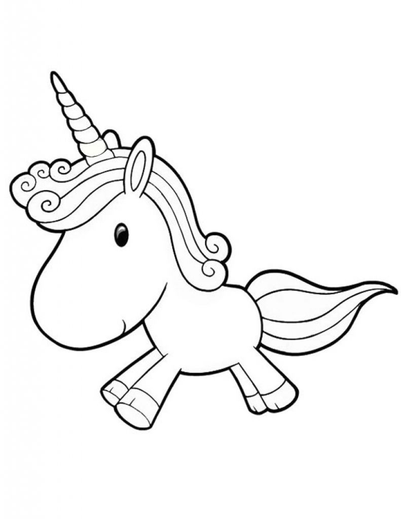 Cute Unicorn Coloring Pages Unicorn Coloring Pages For Kids Az Coloring Pages With Regard To