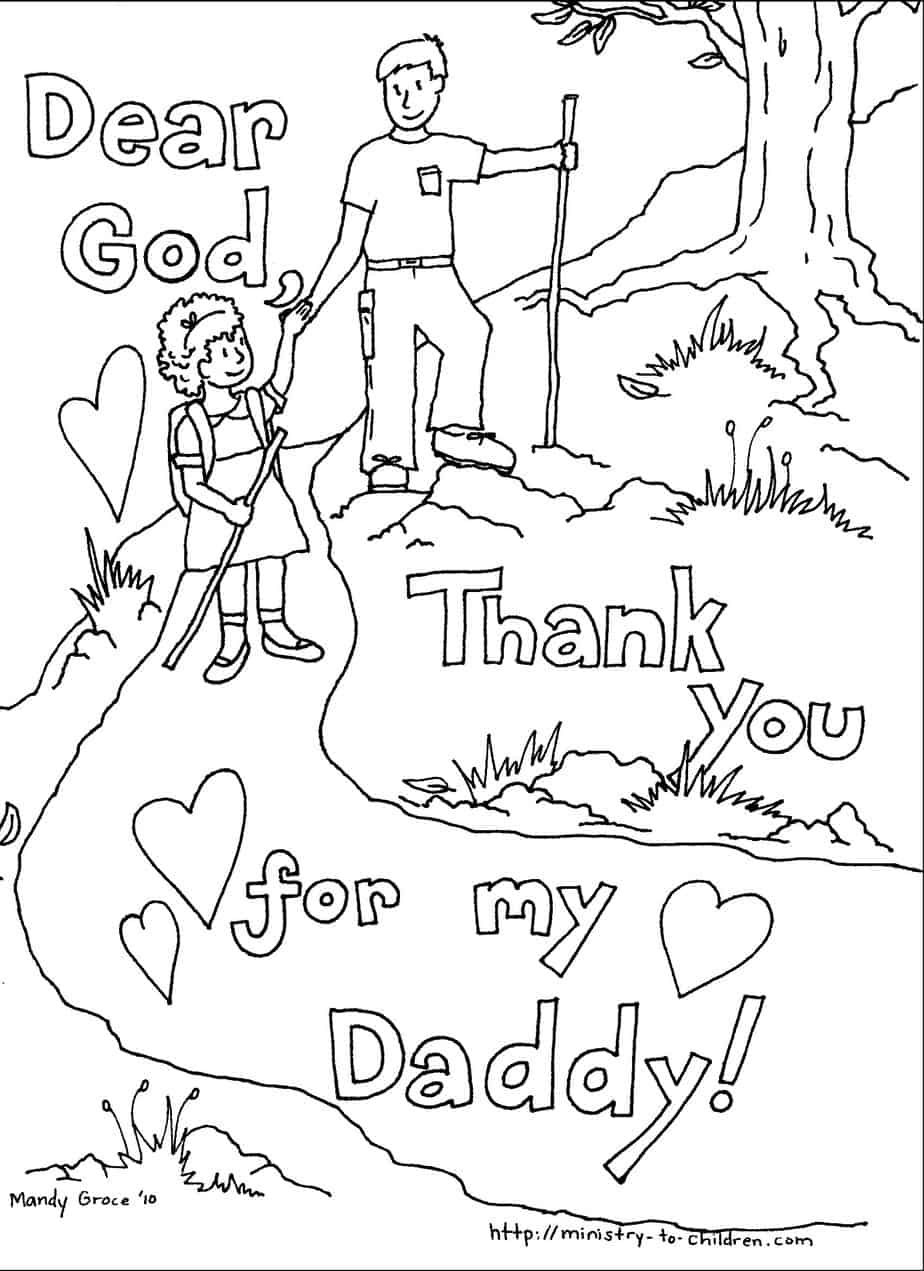 Daddy Coloring Pages Fathers Day Coloring Pages 100 Free Easy Print Pdf