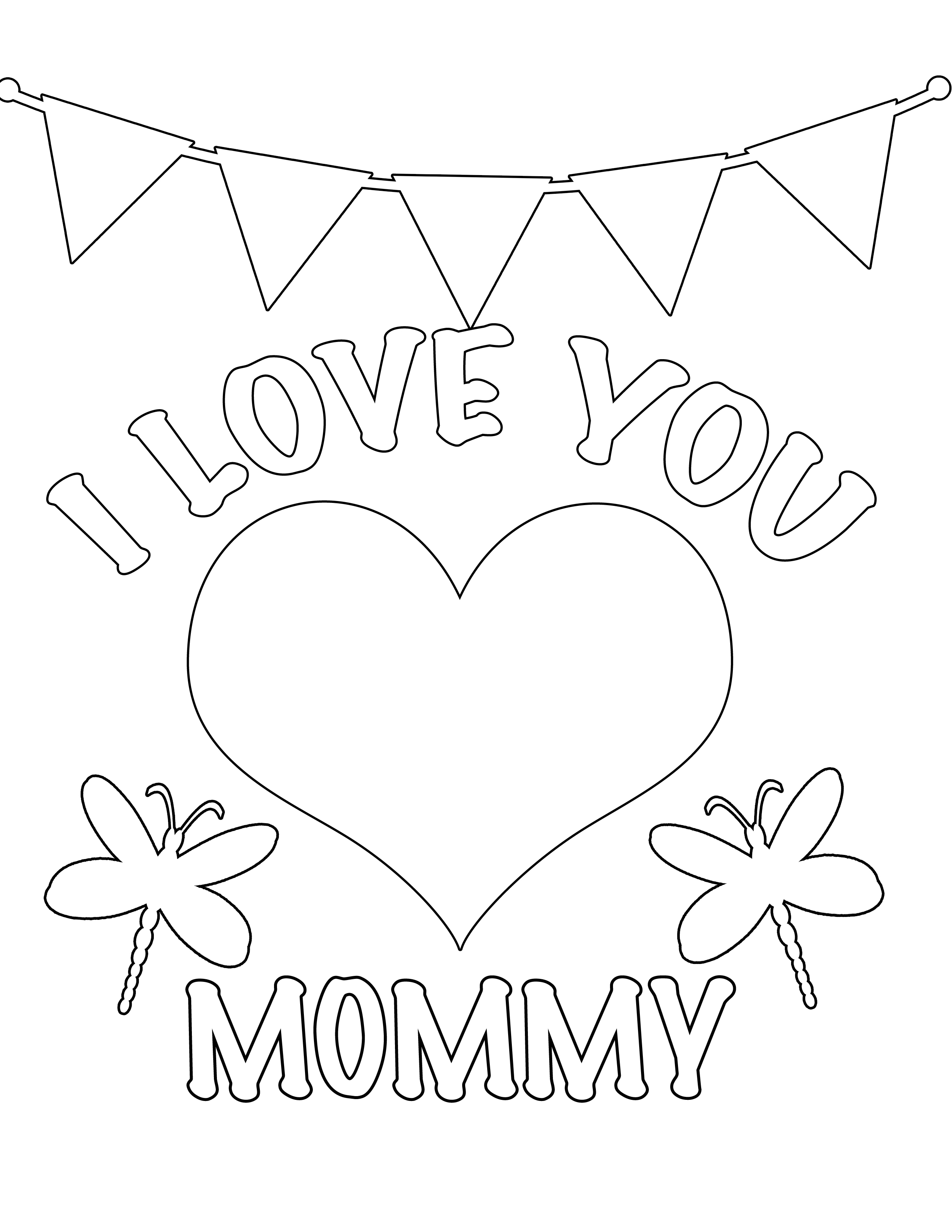 Daddy Coloring Pages I Love You Mommy And Daddy Coloring Pages Free Printable Coloring