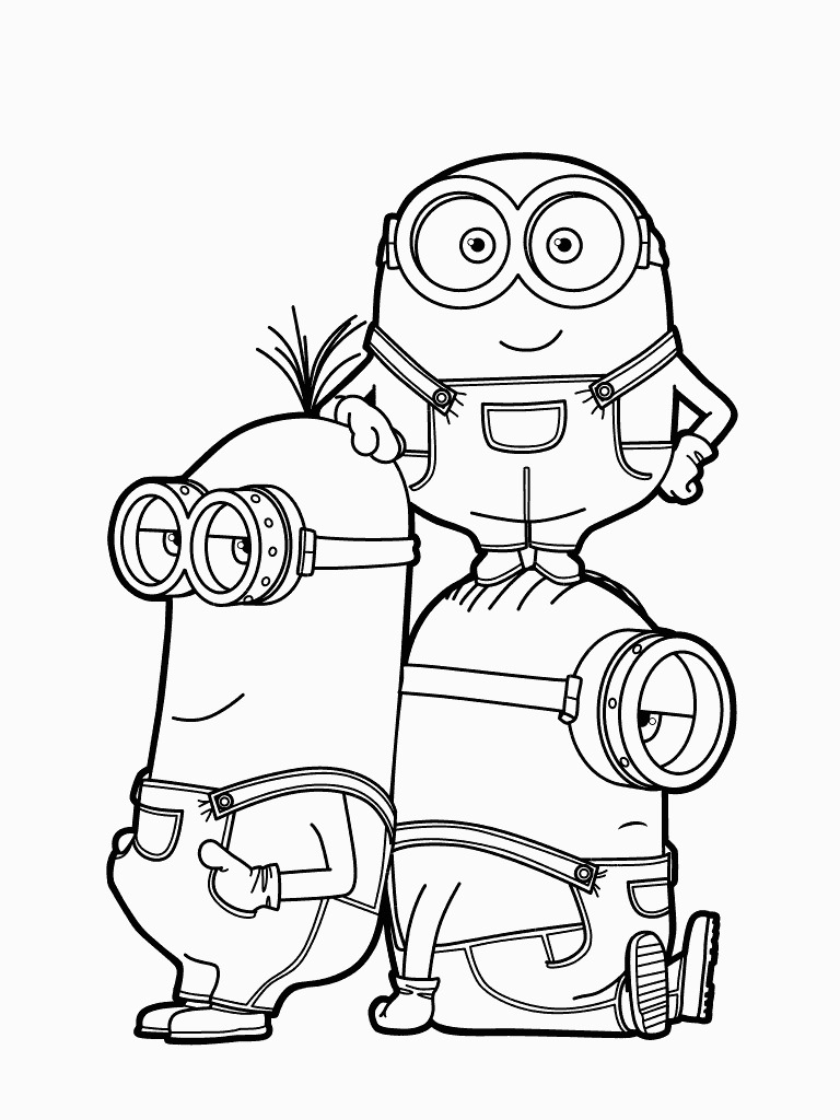 Despicable Coloring Pages Coloring Book World Minion Fromcable Me Coloring Page For