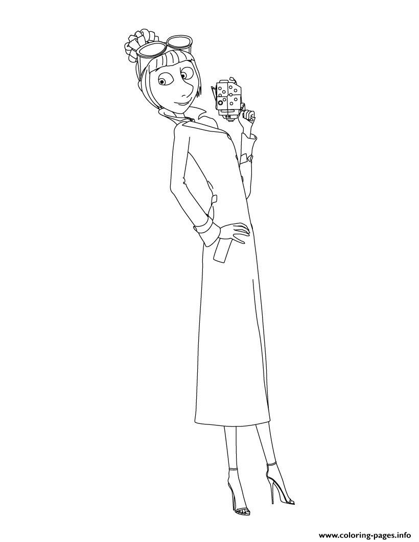 Despicable Coloring Pages Despicable Me 3 Lucy Coloring Pages Printable