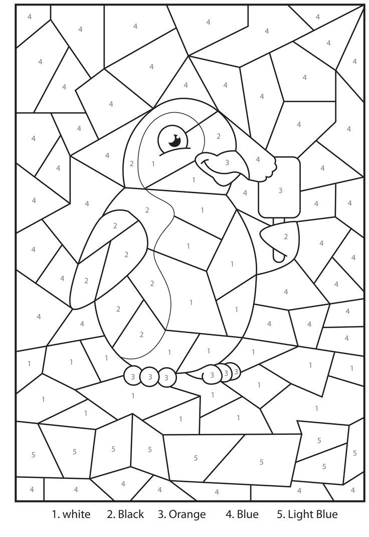 Disney Color By Number Printable Pages Coloring Pages Disney Free Printable Coloring Pages For Kids