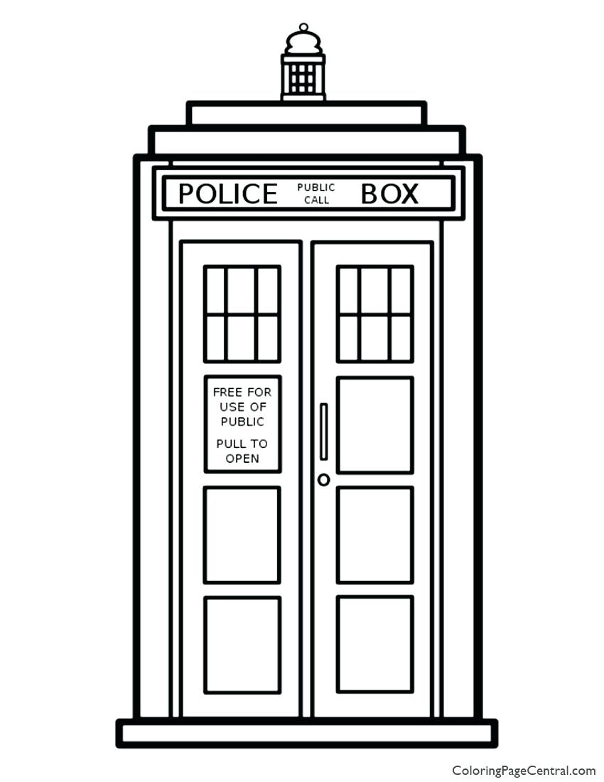 Doctor Who Coloring Page Doctor Coloring Sheet Tulippaperco