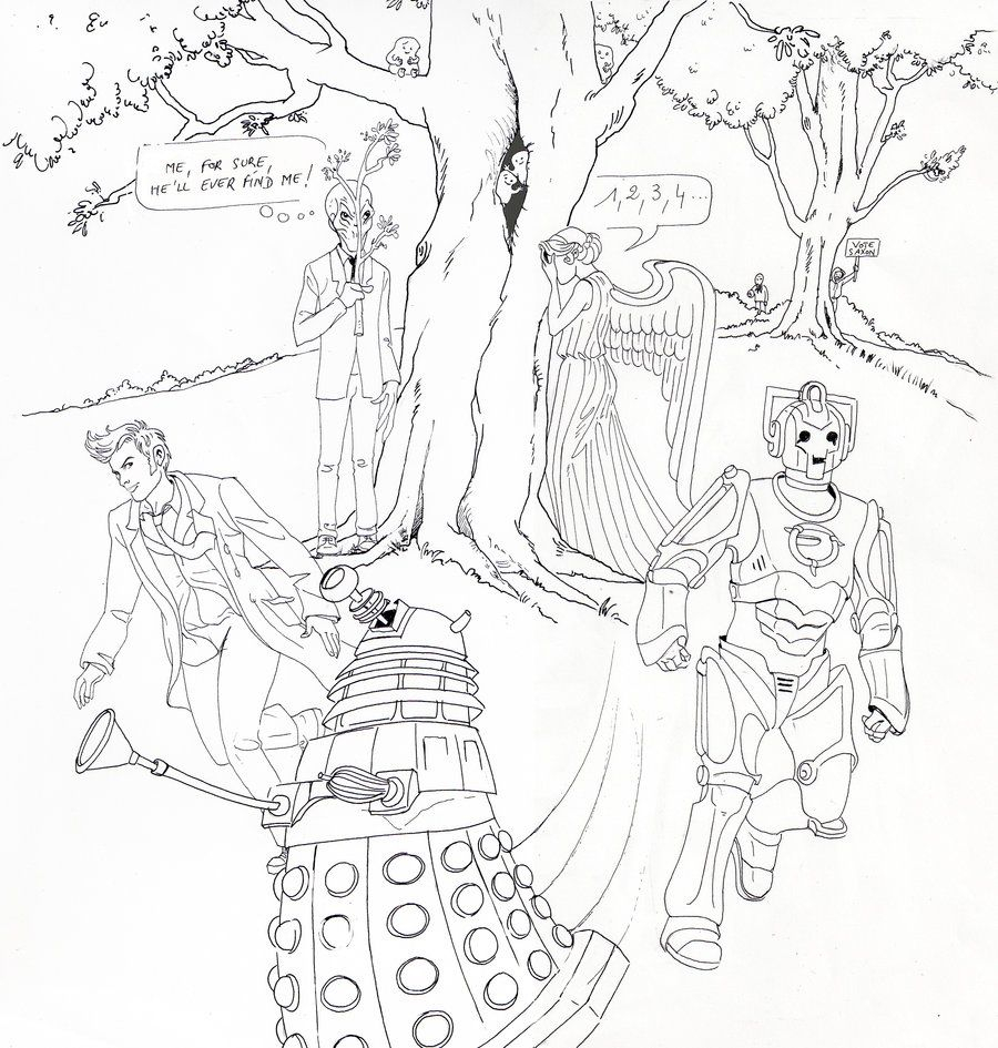 Doctor Who Coloring Page Doctor Who Coloring Pages Coloring Home Doctor Who Coloring Page