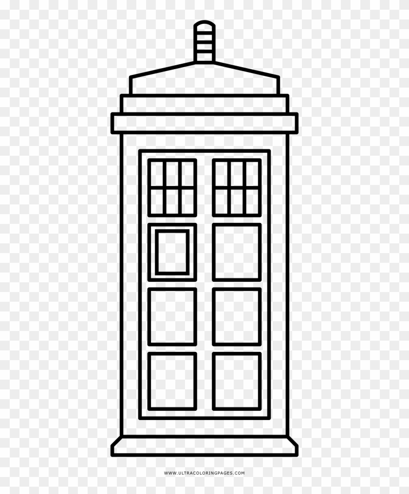 Doctor Who Coloring Page Tardis Coloring Page Doctor Who Coloring Pages Free Transparent