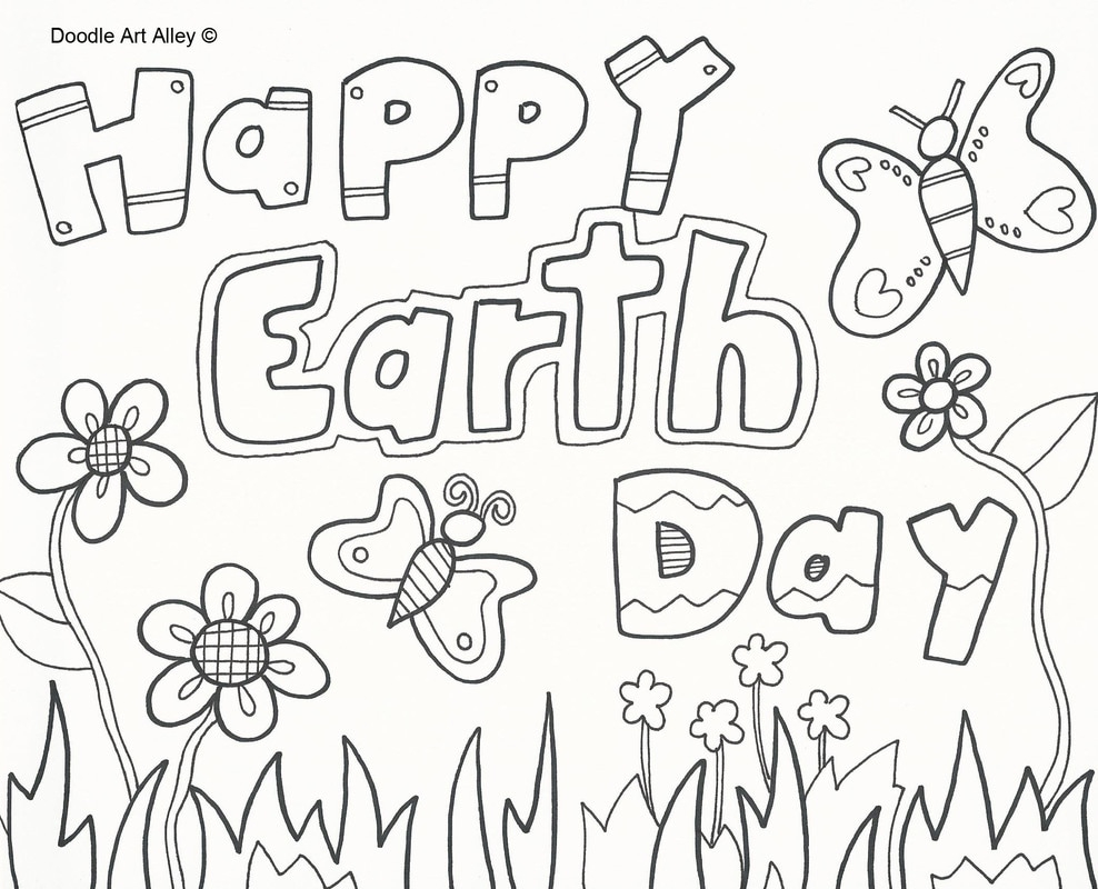 Earth Day Coloring Pages Coloring Arbor Day Coloring Sheets Free Earth Activities For
