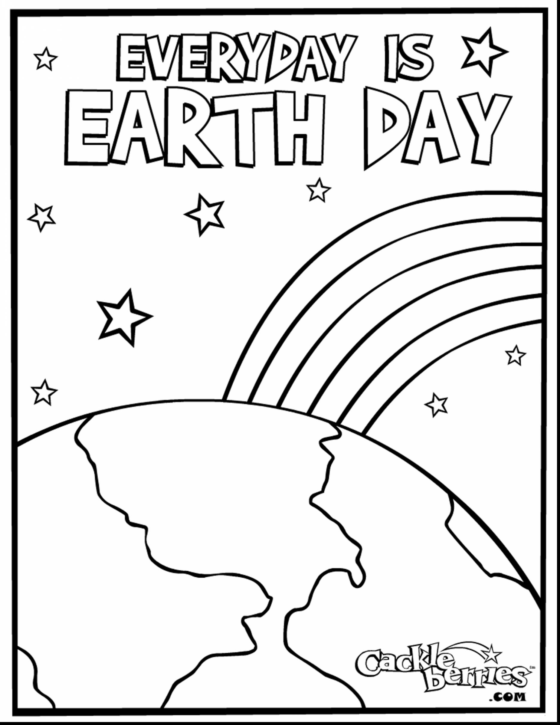 Earth Day Coloring Pages Coloring Ideas Free Printable Earth Day Coloring Pages Andities