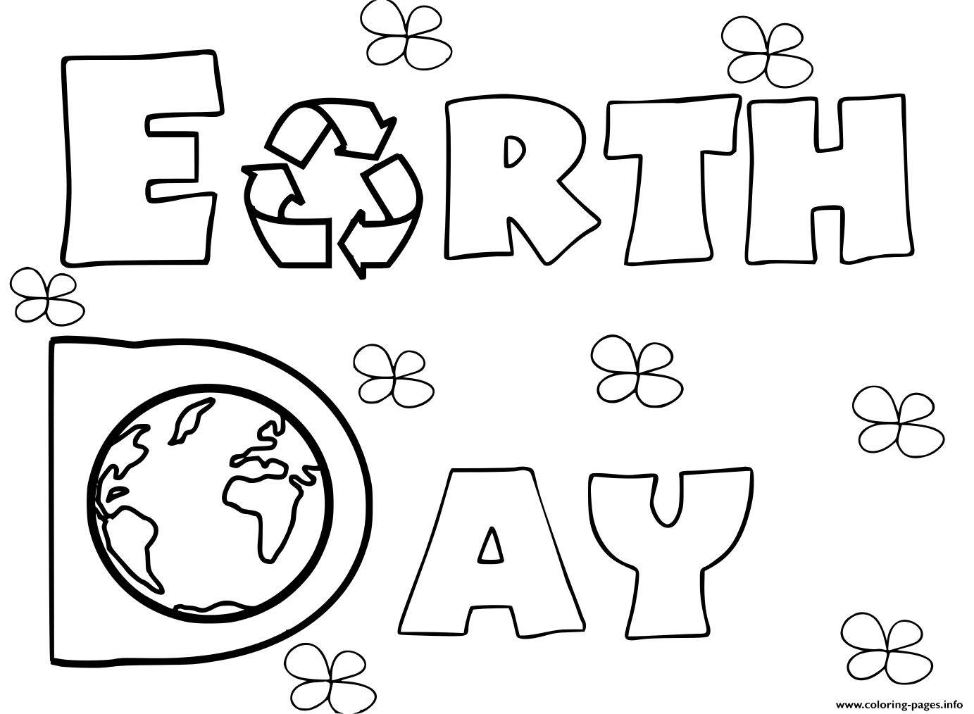 Earth Day Coloring Pages Earth Day Activities Coloring Pages Printable