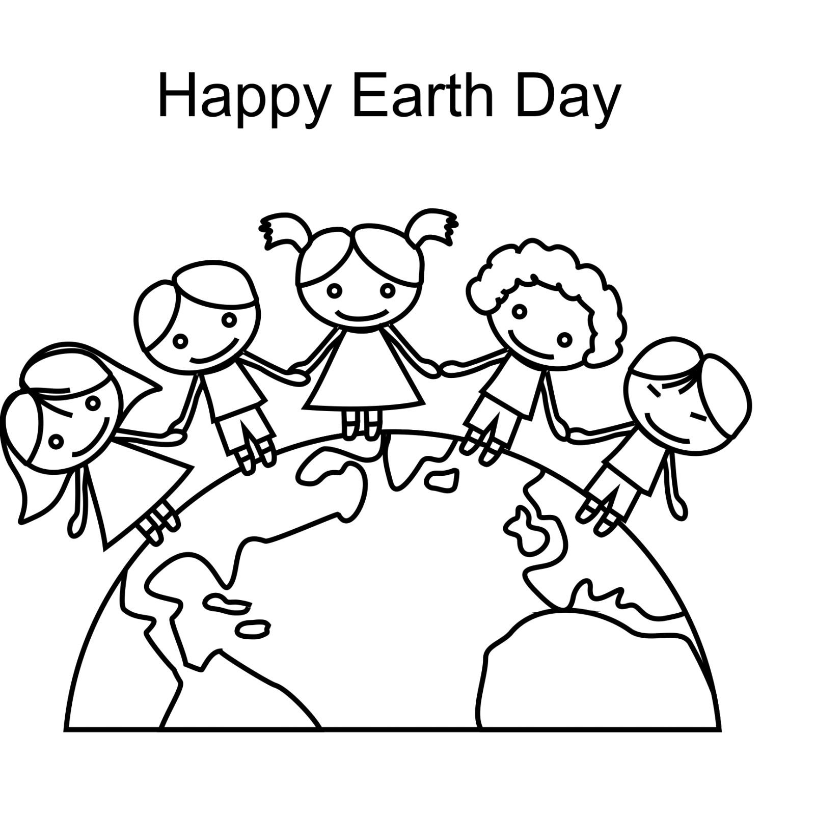 Earth Day Coloring Pages Earth Day Coloring Pages Kindergarten For Kids 16001600 Page 6