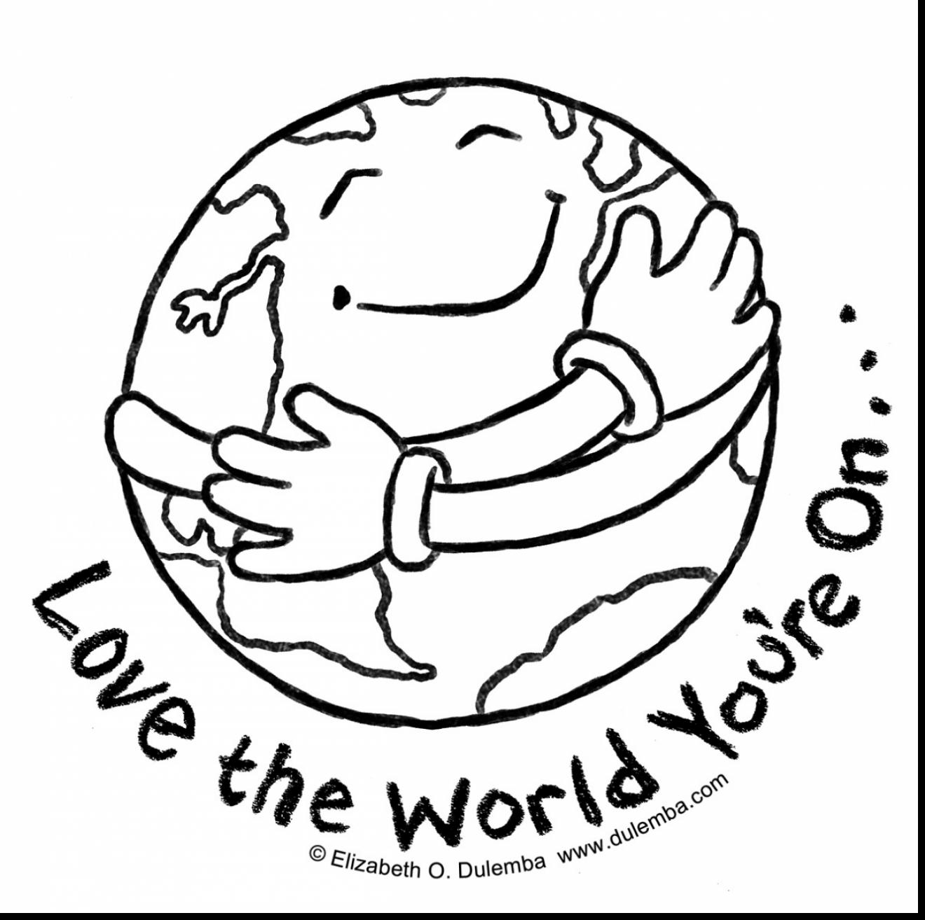 Earth Day Coloring Pages Earth Day Coloring Pages Pdf At Getdrawings Free For Personal
