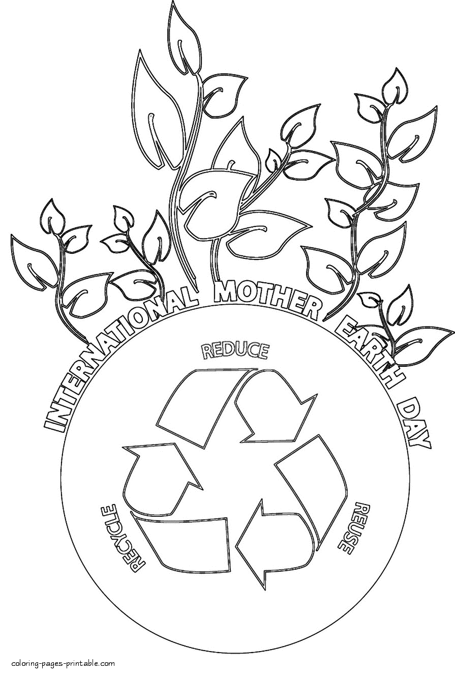 Earth Day Coloring Pages Earth Day Flower Coloring Pages Photo Album Sabadaphnecottage