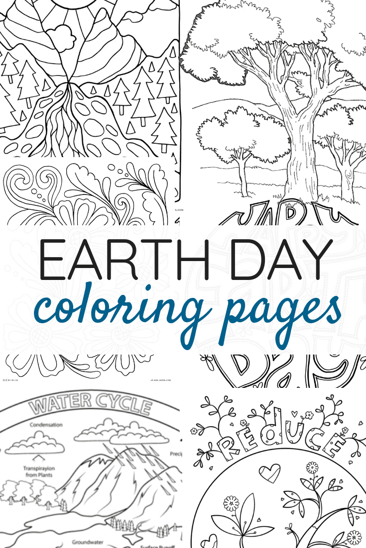 Earth Day Coloring Pages The Best Earth Day Coloring Pages