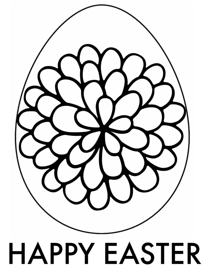 Easter Egg Coloring Page Coloring Easter Egg Coloring Page Awesome Cool Adult Books Pages