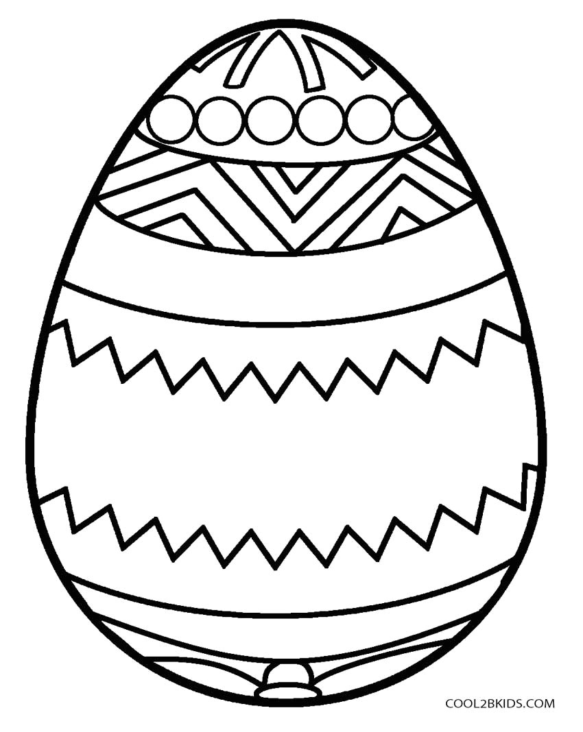 Easter Egg Coloring Page Easter Egg Coloring Pages Eggs Page Telematik Institut